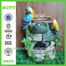 Eagle Sculpture Animal Decorative Resin Bird Water Feature