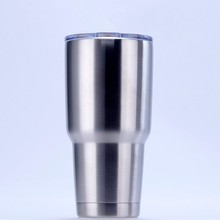 Double wall stainlees steel thermal coffee mug metal drinkware beer mug