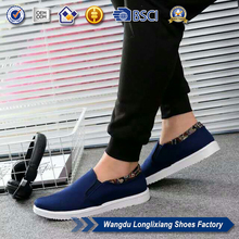 2017 wholesale footwear men fashion casual shoes with low cost for spring