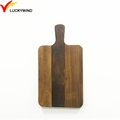 personalized oak mini wooden chopping board with holes