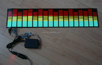 70x16cm Multi-colored Car Sticker Music Rhythm LED EL Sheet Light Lamp Sound Music Activated Equalizer car Stickers