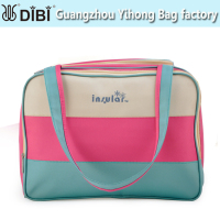 PVC leather diaper bag manufacturers China