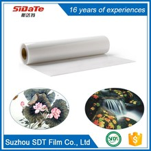 Waterproof Transparent Mylar Pet Plate Making Film For Inkjet Printing