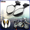 BJ-RM-016 Integrated Turn Signal light Motorcycle LED Mirror for CBR250 CBR300