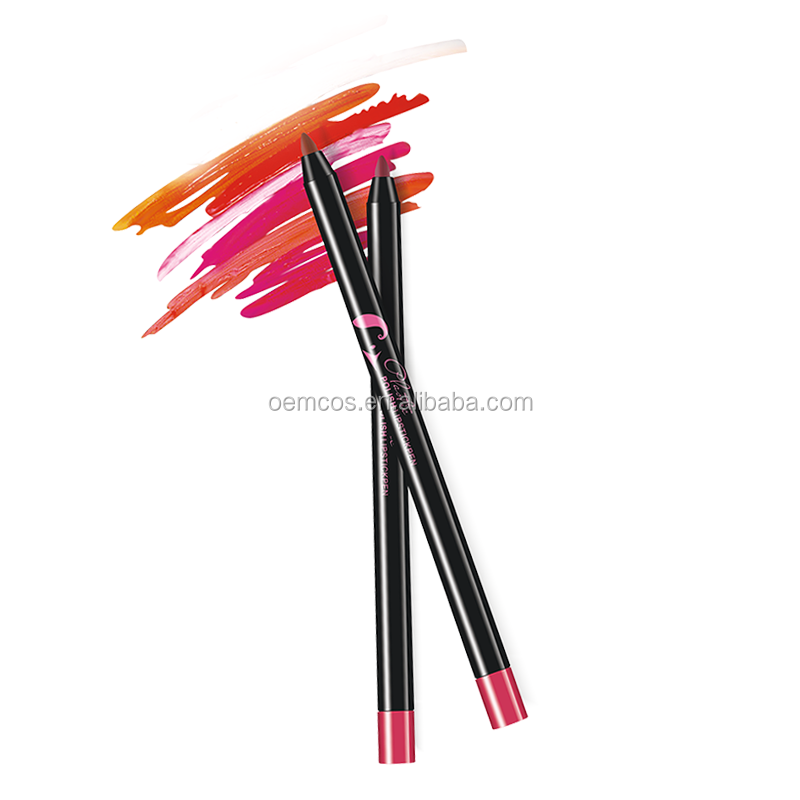 Beautiful Color Precision Glide Lip Liner Lipstick Pen High Quality Long-lasting Matte Lipstick Pen Waterproof Lasting Optional