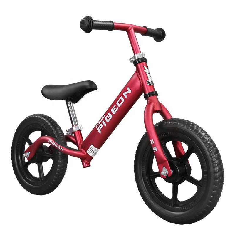 Flying Pigeon 1.9 KG First <strong>Cycle</strong> Blue and Red Sports Training Game Lightweight Kid Balancing Bike Bicycle