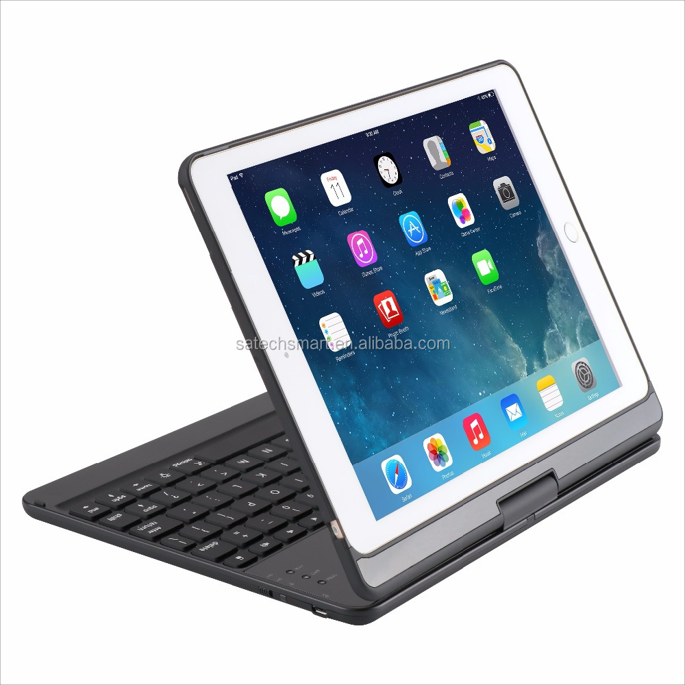 Excellent original factory produces high quality Bluetooth smart keyboard case for iPad series