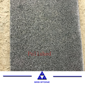 SRS stone Cheap Granite Tiles Polished Sesame Black G654 granite slab Black Impala China
