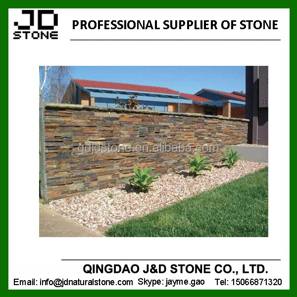 natural exterior wall slate tile