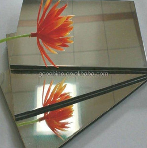 Factory supply light weight Mirror surface Aluminum composite Panel for building wall cladding