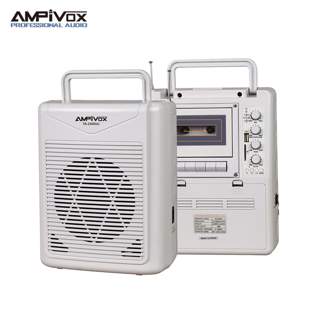 Portable Voice Wireless Amplifier for PA System TA-2500UC