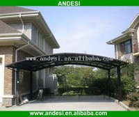 Double modern carport with M Style