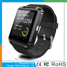 "1.48"" Capacitive Touch Screen Bluetooth smart watch U8 supporting smart phone and multi languages Anti-lost"