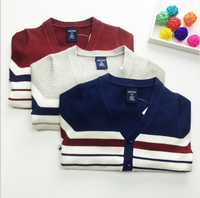 d73854h 2016 fall children's clothing boutique Korean boy sweater long sleeved cardigan sweater for children