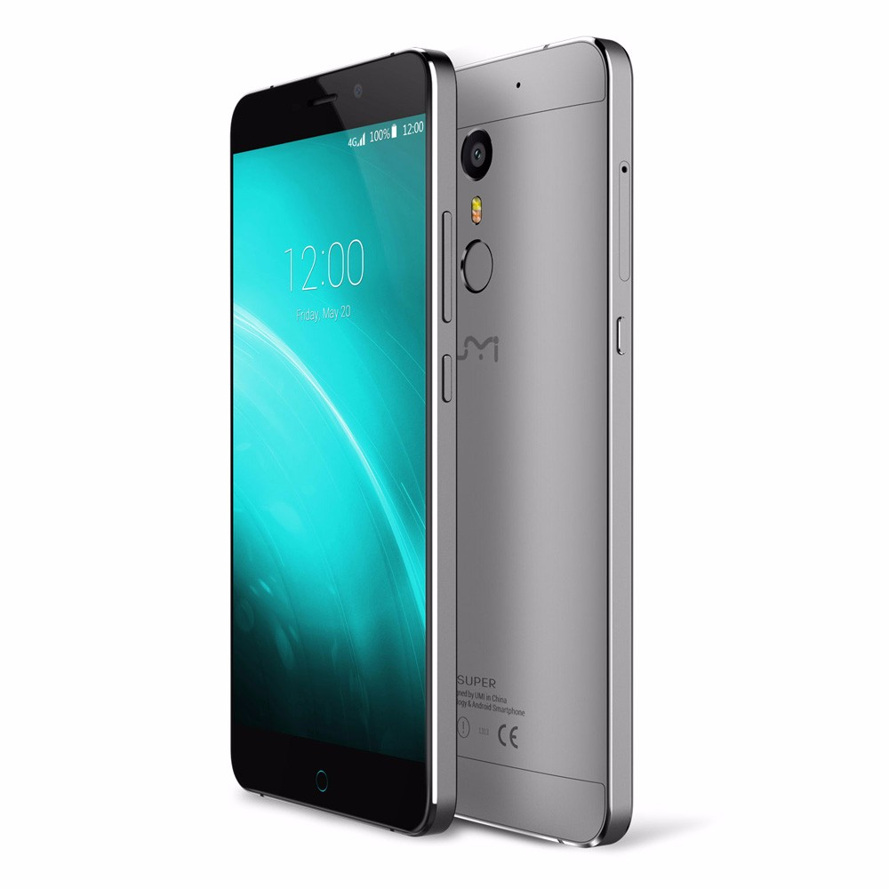 "In stock UMI Super Android 6.0 mobile phone 4G LTE 5.5"" 4000Mah 13.0MP Touch ID Metal Body"