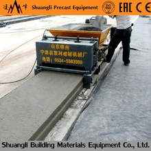 prefabricated house hollow core floor /roof slab making machine/precast concrete roof extruder