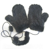 Custom Made Accept Knitted Mink Fur