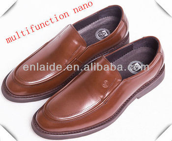 calf leather Massage multi-function shoes
