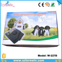 Underground Waterproof Rechargeable electronic Dog Pet Fence W227B with wire