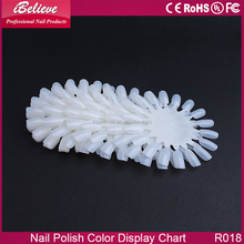 Manufacture Supply nail design practice round wheel