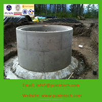 PUXIN Hydraulic Pressure small biogas plant is biogas