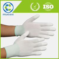 indusrty use finger textured weave / knitted working gloves