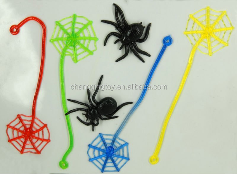 sticky spider web toy for promotion