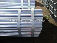 BS1387 Galvanized square steel tube for fence and water gas