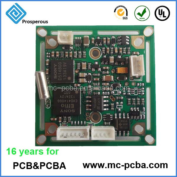 Electronic 2 layers, 4 layers, 6 layers PCBA manufacturer PCB Assembly