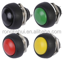12mm Waterproof Momentary Push button Switch 12V 24V 220V