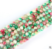 Jewelry making bracelet accessories, size6-16mm Apple quartz stone, natural crystal round beads