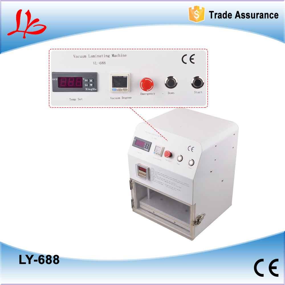 LY 688 OCA vacuum laminator for repair mobile phone,used to assemble Apple, Samsung, Millet, HTC