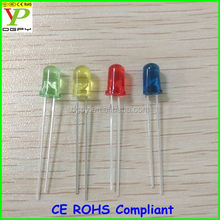 Free Samples Hot sale High quality straw hat/flat top/round/oval 10mm 8mm 5mm 3mm variable color led diode