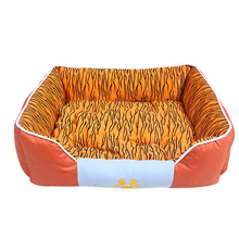 Plush big beautiful dog beds best selling pet bed in china