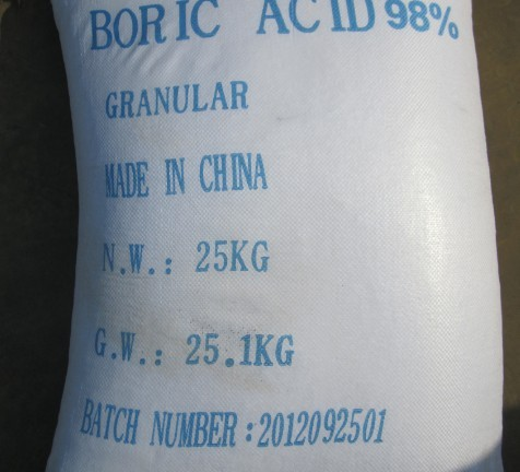 Boric acid Granule agricultural use industrial use