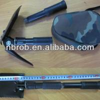 Garden Military Folding Shovel With Compass