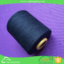 Leading manufacturer Ne 12/1 recycle cotton/polyester knitting thread and yarn double ply knitting yarn for bedsheet