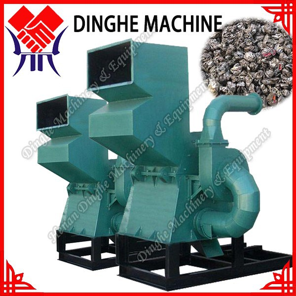 Best performance waste metal sheet crushing machine