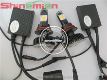 High Power 9004 50W Cree Led Head Light 2000lm High Beam or 1500lm Low Beam