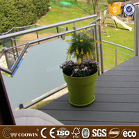 wood plasitc composite wpc decking board