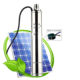 High Quality Submersible Stainless Steel Deep Well Water Supply Pump Solar 3SES1.5/100-D24/300