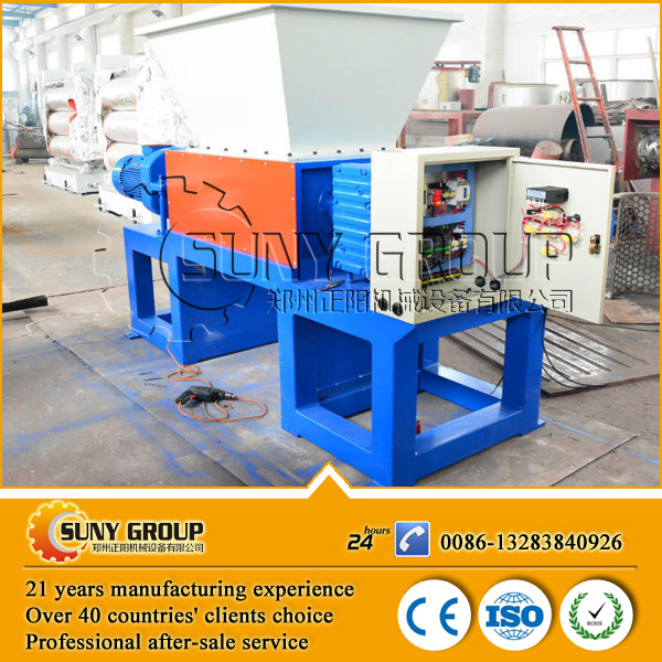pet bottles shredding machine/pet shredder/shredder steel scrap machine