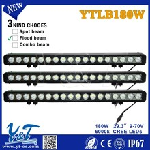 180W Led Light Bar Spot Flood Work Driving Atv Ute Suv Bar Offroad 4WD For Cherolet Colorado