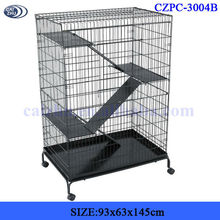 BLACK large luxury hamster cage for wholesale