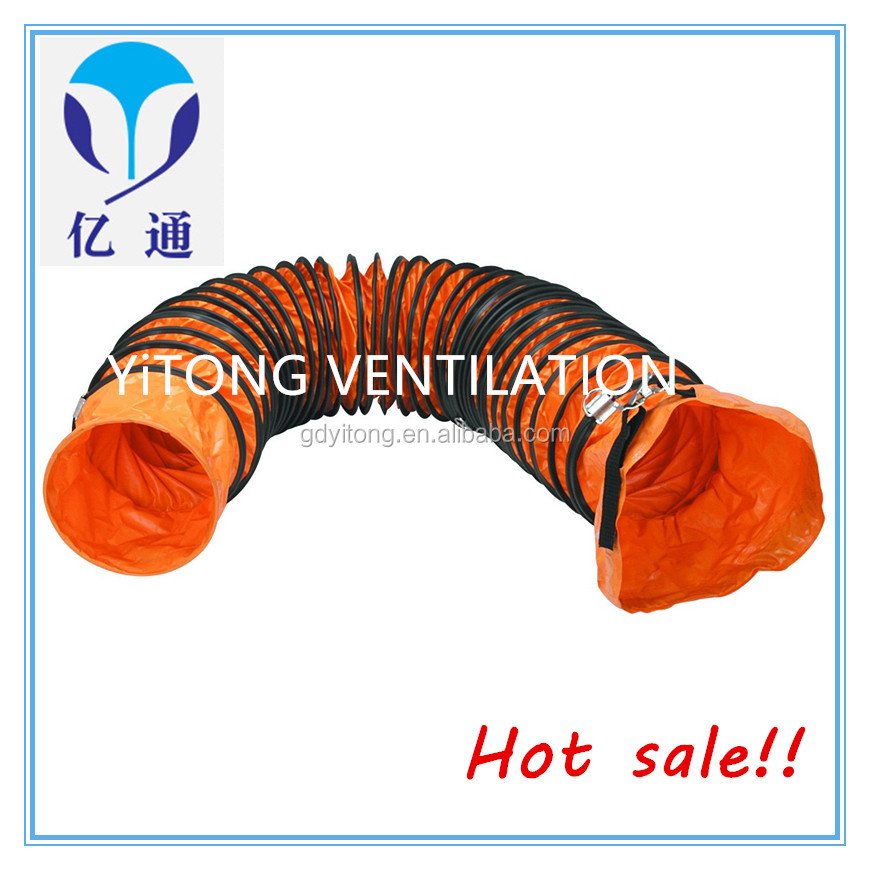 Warehouse price 14 inch flexible duct easily installation