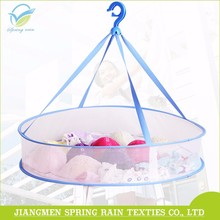 Folding Net 1 Layer Clothes Drying Hanging Basket / Mesh Wire Drying Rack