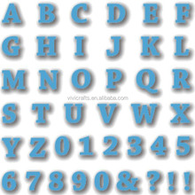 Wholesale Metal Alphabet Series Cutting Dies As Scrapbooking Product