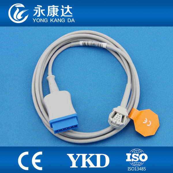 compatible GE Ohmeda TruSat pulse oximeter,OXY-MC3,spo2 sensor extension cable , CE&ISO13485 Proved Manufacturer