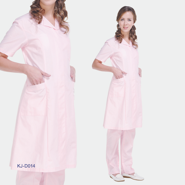 Fashion lab coat for doctor