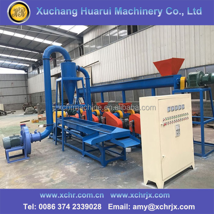 Rubber Tire Grinding Machine/Rubber Pulverizer for Waste Tire Recycling